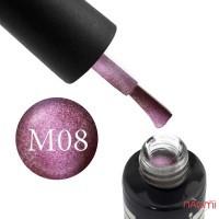 Гель-лак Oxxi Professional Moonstone 8 розовое бордо, 10 мл