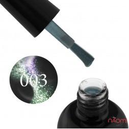 Гель-лак Starlet Professional 5D Cat Eye № 003 фіолетово-зелений полиск, 10 мл