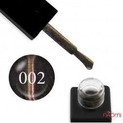 Гель-лак Trendy Nails 5D Space № 002 світло-рожево-золотий полиск, напівпрозорий, 8 мл