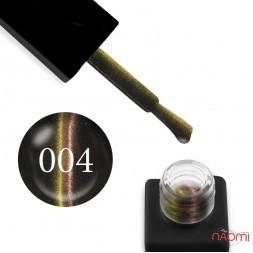 Гель-лак Trendy Nails 5D Space № 004 золотисто-желтый блик, 8 мл