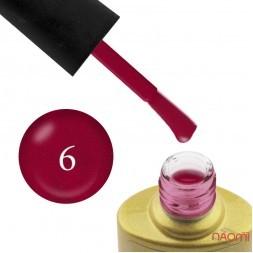 Гель-лак Yo nails I am Red № 06 малиново-червоний з шимерами, 8 мл
