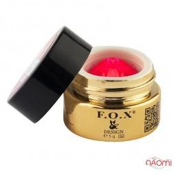 Гель-паста F.O.X. № 002, 5 мл, колір рожевий