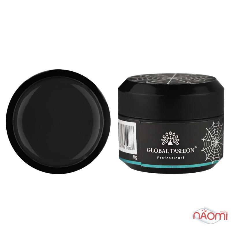Гель Паутинка Global Fashion Easy Spider Gel, цвет черный, 5 г, фото 1, 85.00 грн.