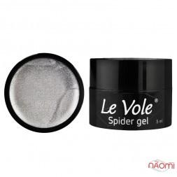 Гель Павутинка Le Vole Spider Gel 03, колір срібло, 5 мл