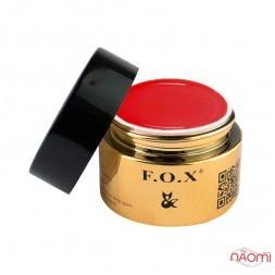 Гель-пластилин F.O.X № 009 красный, 5 мл