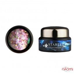 Гель-слюда 4D Starlet Professional 06, цвет разноцветный мерцающий микс, 5 г