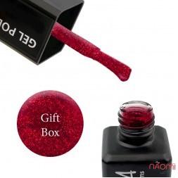 Гель-лак ReformA Gift Box 941884 красный, с блестками, 10 мл