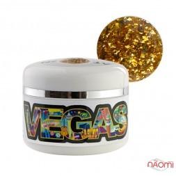 Глиттерный гель-лак Yo nails Vegas V 2, 5 мл