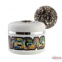 Глиттерный гель-лак Yo nails Vegas V 5, 5 мл
