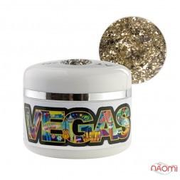 Глиттерный гель-лак Yo nails Vegas V 7, 5 мл