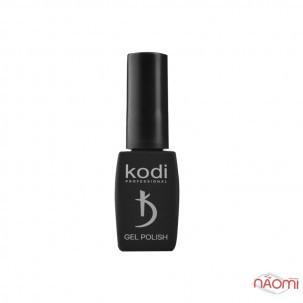 Гель-лак Kodi Professional Animal Print AP 001 молочний з чорними пластівцями, 8 мл