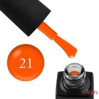 Гель-лак GO Active 021Train Hard оранжево-морковный, 10 мл