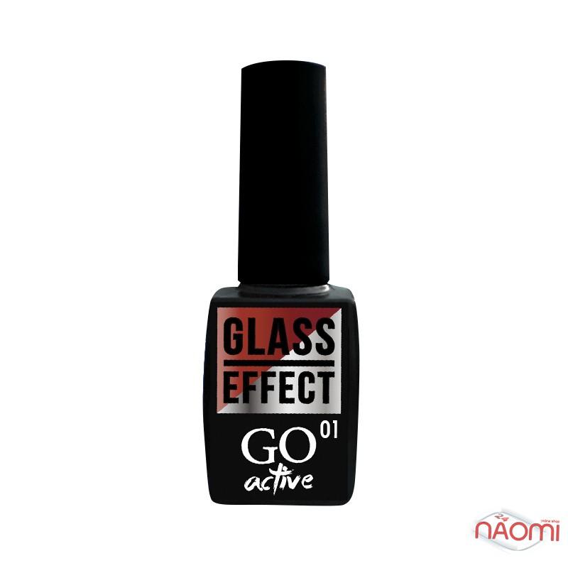 Гель-лак GO Active Glass Effect 01 бордовый, 10 мл, фото 2, 110.00 грн.