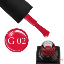 Гель-лак GO Active Glass Effect 02 красный, 10 мл