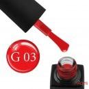 Гель-лак GO Active Glass Effect 03 терракотово-красный, 10 мл, фото 1, 110.00 грн.