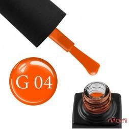 Гель-лак GO Active Glass Effect 04 оранжевый, 10 мл