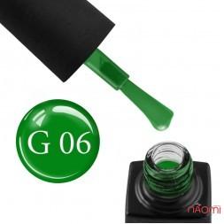 Гель-лак GO Active Glass Effect 06 зеленый, 10 мл