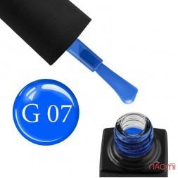 Гель-лак GO Active Glass Effect 07 синий, 10 мл