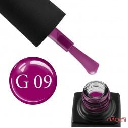 Гель-лак GO Active Glass Effect 09 сливовый, 10 мл