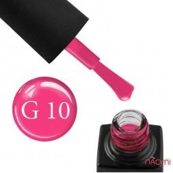 Гель-лак GO Active Glass Effect 10 розовый, 10 мл