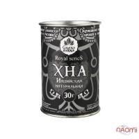 Хна для бровей и био тату Grand Henna Royal Series пудровый эффект, черная, 30 г