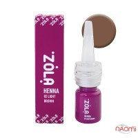 Хна для бровей ZOLA Henna 02 Light Brown, 5 г