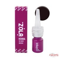 Хна для брів ZOLA Henna 06 Dark Brown, 5 г