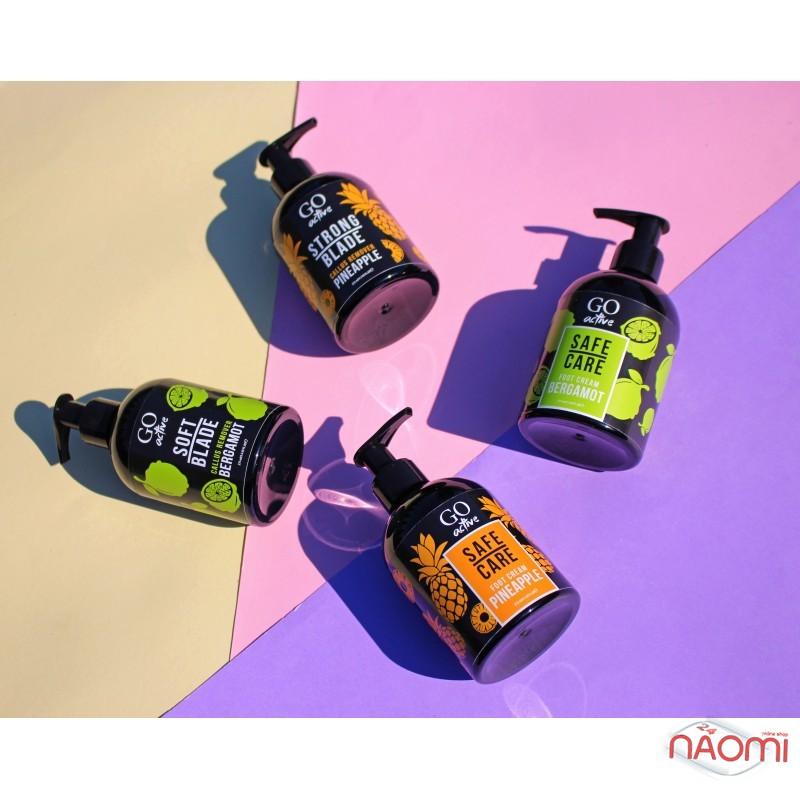 Крем для ног Go Active Safe Care Foot Cream Bergamot, глубоко увлажняющий с экстрактом бергамота, 275 мл, фото 2, 100.00 грн.