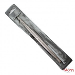 Инструмент для ламинирования и биозавивки ресниц Lash Secret с расческой, капучино