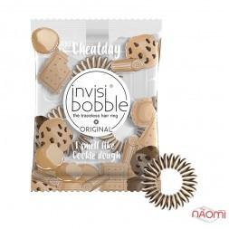 Резинка-браслет для волос Invisibobble ORIGINAL Dough Craving, цвет шокол.-молочный, 35х10 мм, 3 шт.