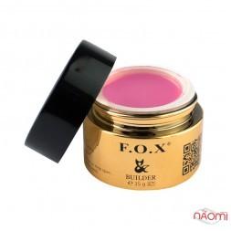 Камуфлирующий гель F.O.X Camouflage builder gel UV+LED 004, холодный розовый, 15 мл