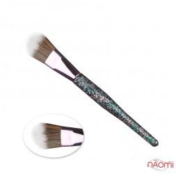 Кисть для макияжа Farres MZ-166, для тона, искусственный ворс