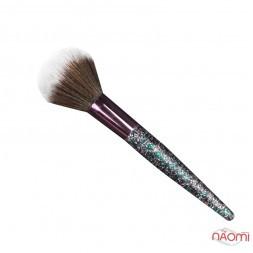 Кисть для макияжа Farres MZ-169, для румян и пудры, искусственный ворс