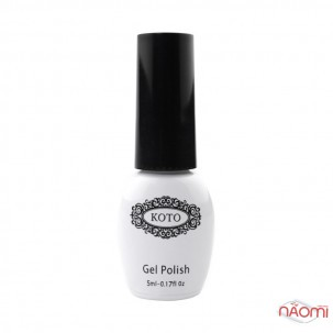 Топ для гель-лаку без липкого шару Koto Crystal Cat Eye Top Coat 01, 5 мл