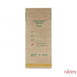 Крафт пакеты Медтест для паровой и воздушной стерилизации, 75х150 мм, 100 шт.