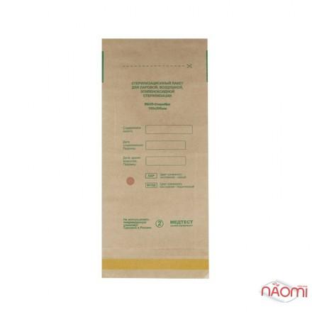 Крафт пакеты Медтест для паровой и воздушной стерилизации, 115х200 мм, 100 шт., фото 1, 175.00 грн.