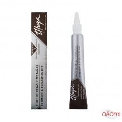 Фарба для брів і вій Thuya Professional Line Ash Brown, колір молочний шоколад, 14мл