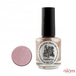 Краска для стемпинга EL Corazon - Kaleidoscope с зеркал.№ st-302 Fairy breath/розово-бронзовый 15 мл