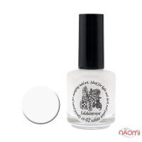Краска для стемпинга EL Corazon - Kaleidoscope № st-02 white/белый 15 мл