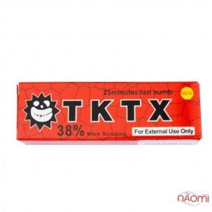 Крем-анестетик для мікроблейдінга і татуажу 38% TKTX RED, 10 г