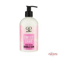 Крем для рук Go Active Hand Cream Bubble Gum, увлажняющий, бабл гам, 350 мл