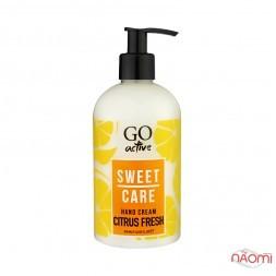 Крем для рук Go Active Hand Cream Citrus Fresh, освежающий Detox, свежий цитрус, 350 мл