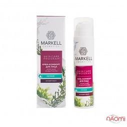 Крем-комфорт для обличчя Markell Skin Care Program з морськими водоростями, нічний, 50 мл