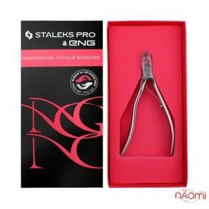 Кусачки для шкіри Staleks PRO ENG NG 11, для лівші, ріжуча частина 6 мм