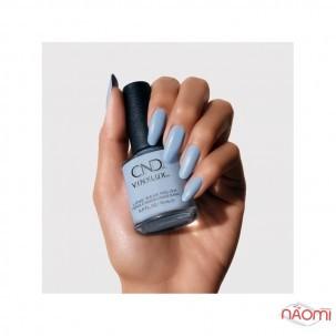 Лак CND Vinylux The Colors of You 372 Chance Taker пастельний блідо-блакитний барвінок, 15 мл