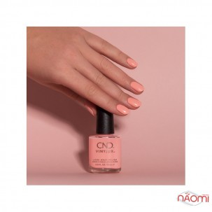 Лак CND Vinylux The Colors of You 373 Rule Breaker яркий коралл, 15 мл