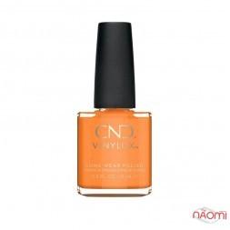 Лак CND Vinylux Boho Spirit 281 Gypsy, оранжевый, 15 мл