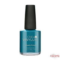 Лак CND Vinylux Nightspell 255 Viridian Veil серебристо-изумрудный, 15 мл