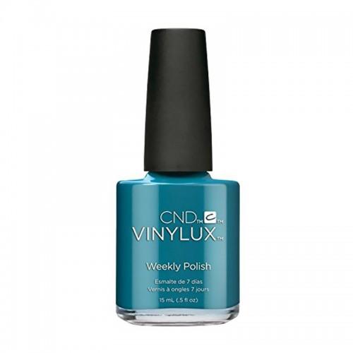 Лак CND Vinylux Nightspell 255 Viridian Veil серебристо-изумрудный, 15 мл, фото 1, 149.00 грн.