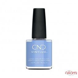 Лак CND Vinylux The Colors of You 372 Chance Taker пастельный бледно-голубой барвинок, 15 мл